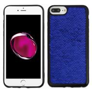 Two-Tone Sparkle Sequins Case for iPhone 8 Plus / 7 Plus / 6S Plus / 6 Plus - Blue