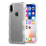 Tuff Lite Air Cushion Transparent Hybrid Case for iPhone XS / X - Clear