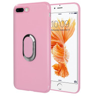 *Sale* Ring Stent Finger Loop Case for iPhone 8 Plus / 7 Plus - Pink