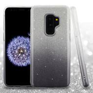 Full Glitter Hybrid Protective Case for Samsung Galaxy S9 Plus - Gradient Black
