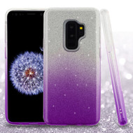 *SALE* Full Glitter Hybrid Protective Case for Samsung Galaxy S9 Plus - Gradient Purple