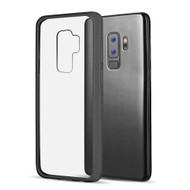Polymer Transparent Hybrid Case for Samsung Galaxy S9 Plus - Black