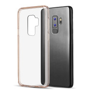 Polymer Transparent Hybrid Case for Samsung Galaxy S9 Plus - Rose Gold