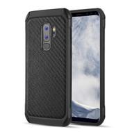 *Sale* Tough Anti-Shock Hybrid Case for Samsung Galaxy S9 Plus - Carbon Fiber