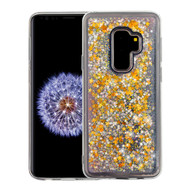 Quicksand Glitter Transparent Case for Samsung Galaxy S9 Plus - Pink