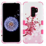 Military Grade Certified TUFF Image Hybrid Armor Case for Samsung Galaxy S9 Plus - Spring Flowers