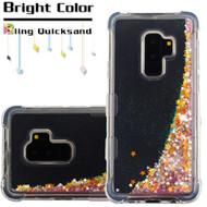 Tuff Lite Quicksand Glitter Transparent Case for Samsung Galaxy S9 Plus - Pink
