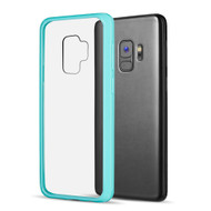 Polymer Transparent Hybrid Case for Samsung Galaxy S9 - Baby Blue