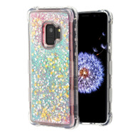 Tuff Lite Quicksand Glitter Transparent Case for Samsung Galaxy S9 - Pink