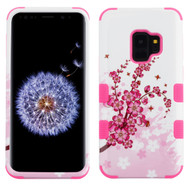 Military Grade Certified TUFF Image Hybrid Armor Case for Samsung Galaxy S9 - Spring Flowers