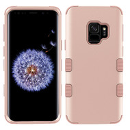 Military Grade Certified TUFF Hybrid Armor Case for Samsung Galaxy S9 - Rose Gold