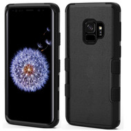 Military Grade Certified TUFF Hybrid Armor Case for Samsung Galaxy S9 - Black