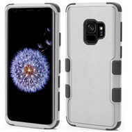 Military Grade Certified TUFF Hybrid Armor Case for Samsung Galaxy S9 - Grey
