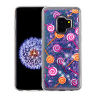 Quicksand Glitter Transparent Case for Samsung Galaxy S9 - Lollipop