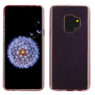 Rubberized Crystal Case for Samsung Galaxy S9 - Rose Gold