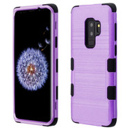 *SALE* Military Grade Certified Brushed TUFF Hybrid Armor Case for Samsung Galaxy S9 Plus - Purple