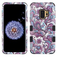 Military Grade Certified TUFF Image Hybrid Armor Case for Samsung Galaxy S9 - Persian Paisley