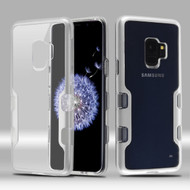TUFF Panoview Transparent Hybrid Case for Samsung Galaxy S9 - Silver
