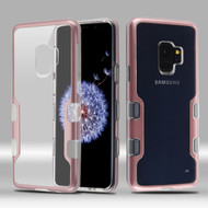 TUFF Panoview Transparent Hybrid Case for Samsung Galaxy S9 - Rose Gold