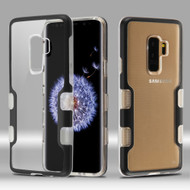 TUFF Panoview Transparent Hybrid Case for Samsung Galaxy S9 Plus - Black