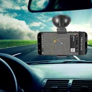 Hands-free Car Windshield Clip Mount Phone Holder - Black
