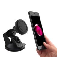 Magnetic Universal Smartphone Windshield Holder Mount - Black
