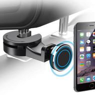 Magnetic Universal Smartphone Headrest Mount - Black