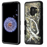 Military Grade Certified TUFF Hybrid Armor Case for Samsung Galaxy S9 - Tree Camouflage