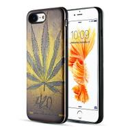 *Sale* Art Pop Series 3D Embossed Printing Hybrid Case for iPhone 8 / 7 - Cannabis 420