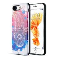 Art Pop Series 3D Embossed Printing Hybrid Case for iPhone 8 / 7 - Mandala