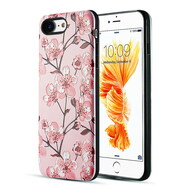 Art Pop Series 3D Embossed Printing Hybrid Case for iPhone 8 / 7 - Sakura