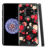 Tough Triple Layer Hybrid Case for Samsung Galaxy S9 Roses
