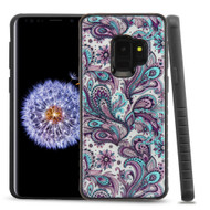 Tough Triple Layer Hybrid Case for Samsung Galaxy S9 Persian Paisley