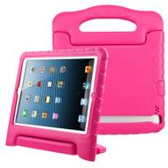 Kids Friendly Light Weight Shock Proof Standing Case with Handle for iPad 2, iPad 3 and iPad 4th Generation - Hot Pink