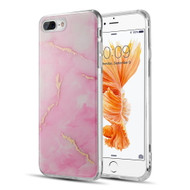 *SALE* Marble IMD Soft TPU Glitter Case for iPhone 8 Plus / 7 Plus - Pink