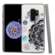Tough Anti-Shock Triple Layer Hybrid Case for Samsung Galaxy S9 Plus - Elephant Mandala