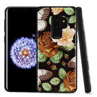 Tough Anti-Shock Triple Layer Hybrid Case for Samsung Galaxy S9 Plus - Lucky Flowers