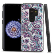 Tough Anti-Shock Triple Layer Hybrid Case for Samsung Galaxy S9 Plus - Persian Paisley