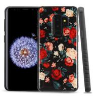 Tough Anti-Shock Triple Layer Hybrid Case for Samsung Galaxy S9 Plus - Roses