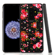 Tough Anti-Shock Hybrid Case for Samsung Galaxy S9 Plus- Romantic Love Flowers