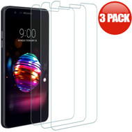 *SALE* HD Premium 2.5D Round Edge Tempered Glass Screen Protector for LG K30 / Harmony 2 / Premier Pro - 3 Pack