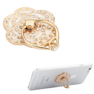 Smart Loop Universal Smartphone Holder & Stand - Diamond Flower White