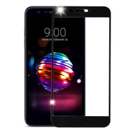 Premium Full Coverage Tempered Glass Screen Protector for LG K30 / Harmony 2 / Phoenix Plus / Premier Pro - Black