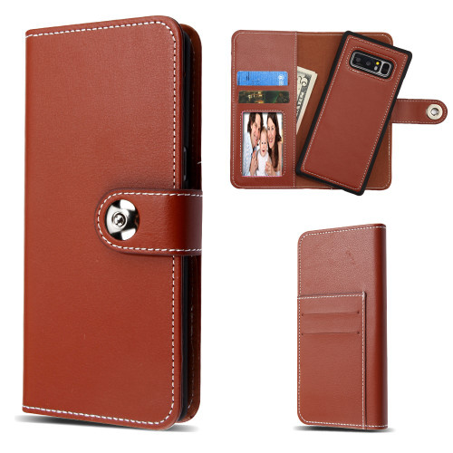 official photos 66cd7 784fe SALE* 2-IN-1 Premium Leather Wallet Folio with Detachable Magnetic ...