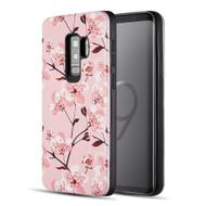 *Sale* Art Pop Series 3D Embossed Printing Hybrid Case for Samsung Galaxy S9 Plus - Sakura
