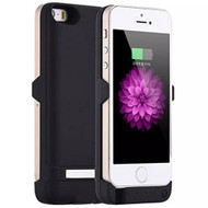 *Sale* Power Bank Battery Case 4200mAh with External USB Charging Port for iPhone SE / 5S / 5 - Black