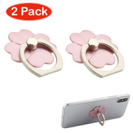 Smart Loop Universal Smartphone Holder & Stand - Flower Rose Gold Twin Pack
