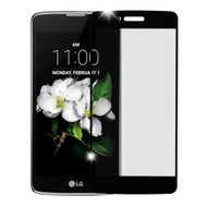 Full Tempered Glass Screen Protector for LG Aristo 3 / Aristo 2 Plus / Fortune 2 / Tribute Empire - Black