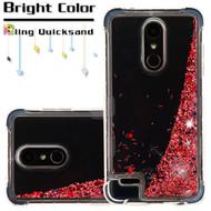 Tuff Lite Quicksand Glitter Case for LG K30 - Rose Gold