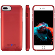 Smart Power Bank Battery Case 3000mAh for iPhone 8 / 7 / 6S / 6 - Red